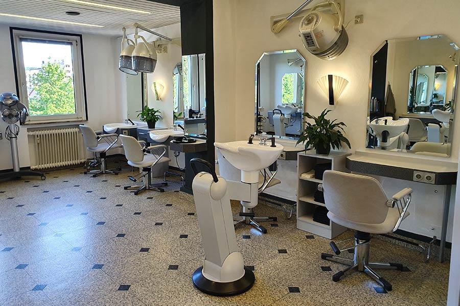 Innenansicht Friseur Hembach