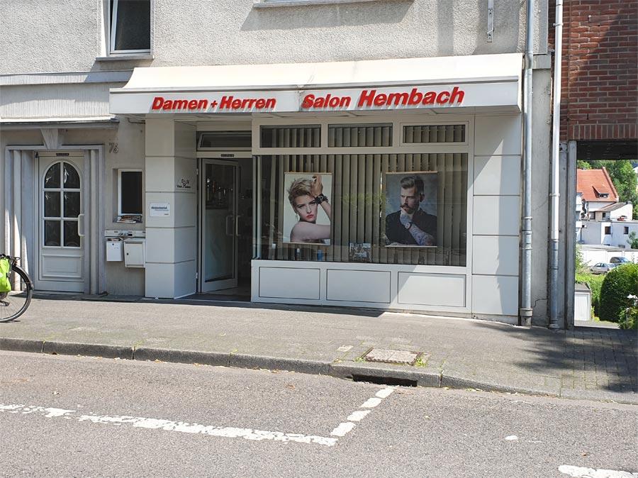 Ladenlokal Friseur Hembach
